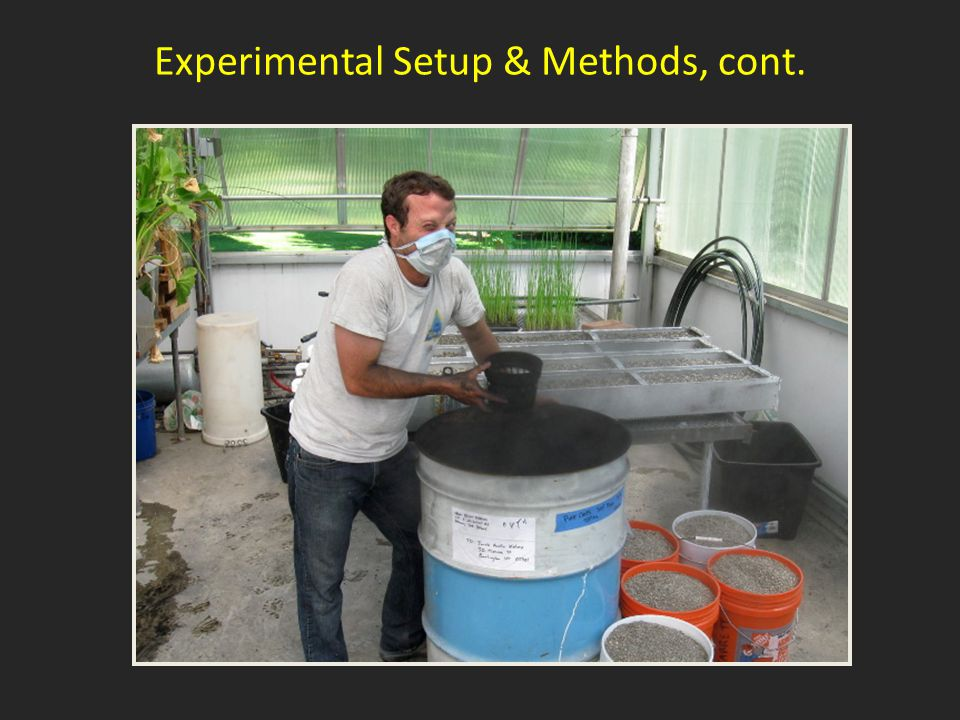 Experimental Setup & Methods, cont.