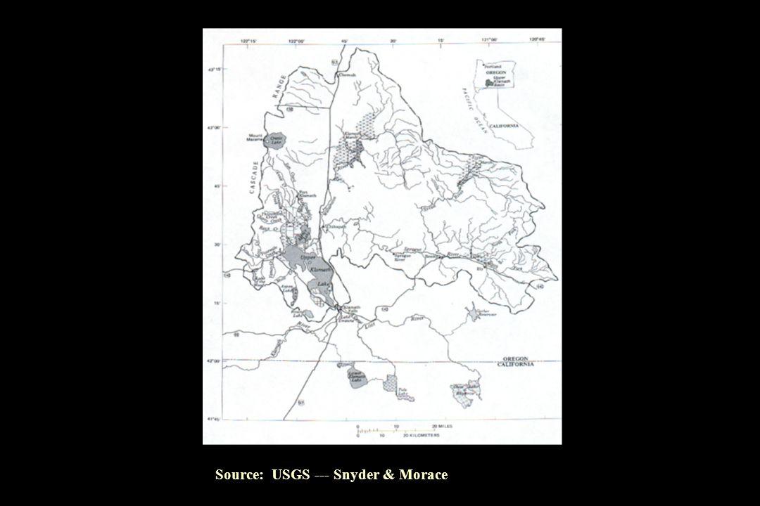 Source: USGS --- Snyder & Morace