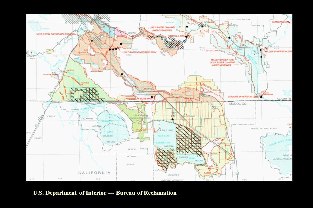 U.S. Department of Interior --- Bureau of Reclamation