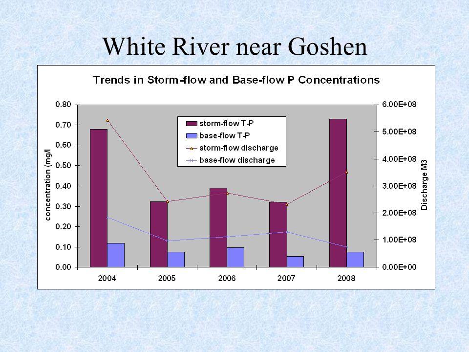 White River near Goshen