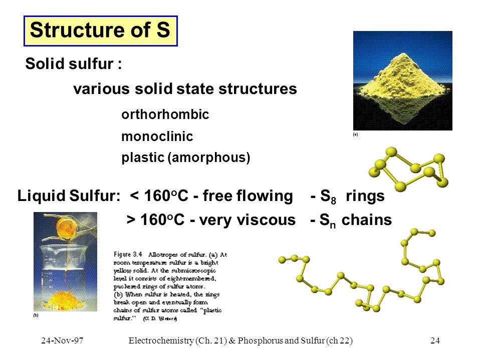 24-Nov-97Electrochemistry (Ch.
