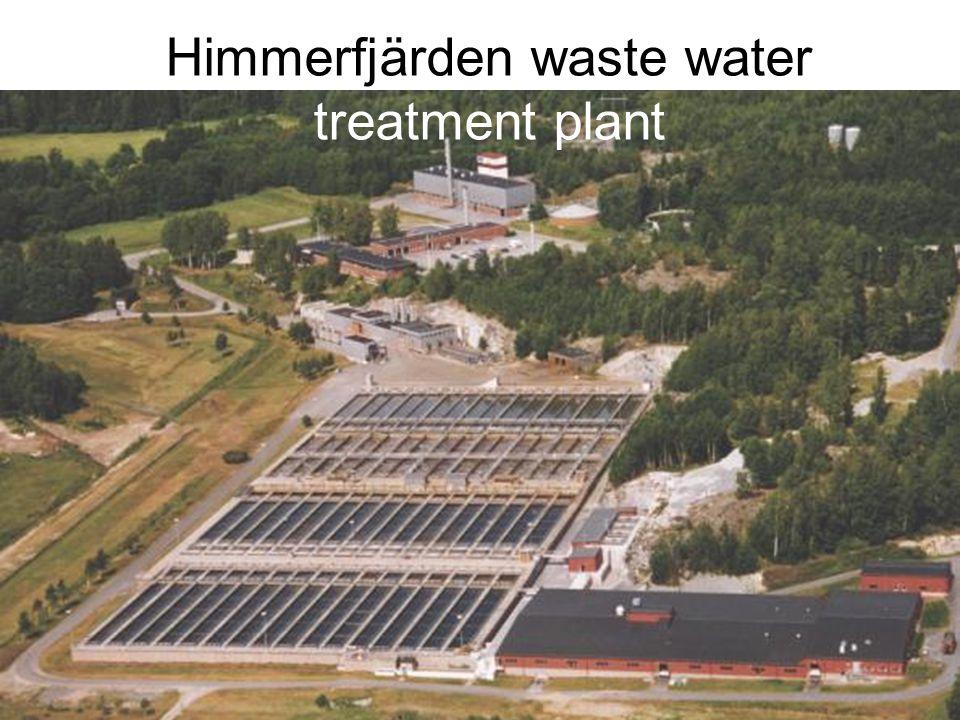 Himmerfjärden waste water treatment plant