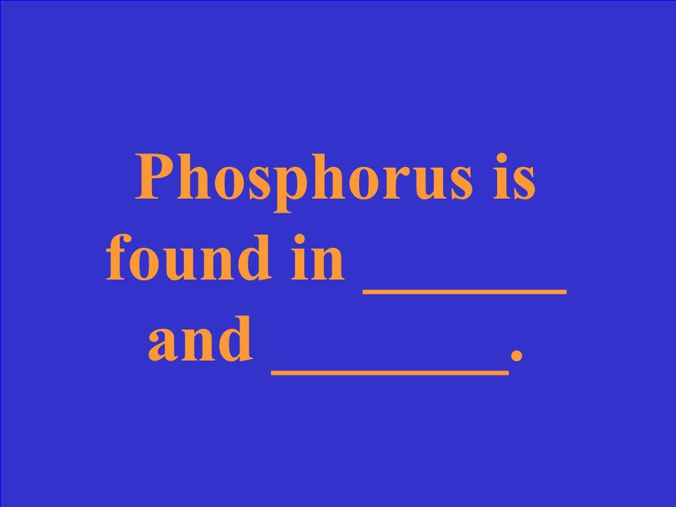 What is phosphorus?