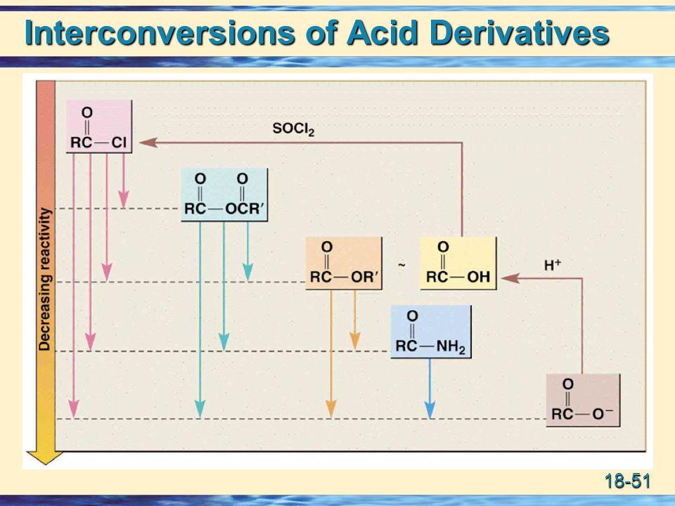 18-51 Interconversions of Acid Derivatives