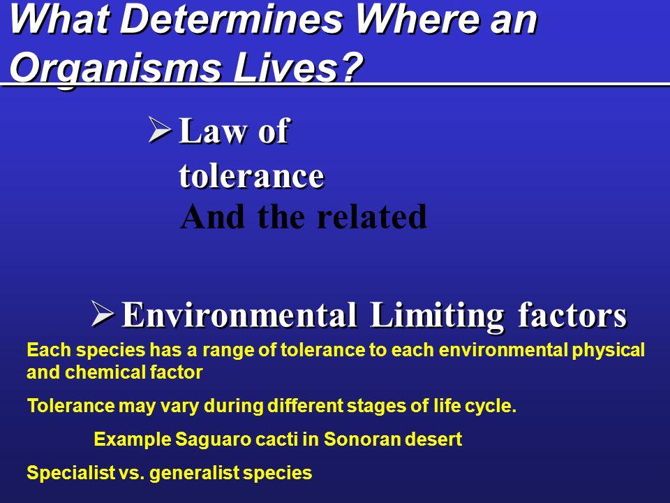 Ecosystem Boundaries: Ecotones Fig. 4-10 p. 71