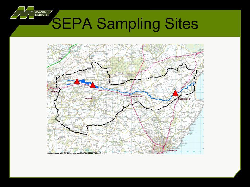 SEPA Sampling Sites