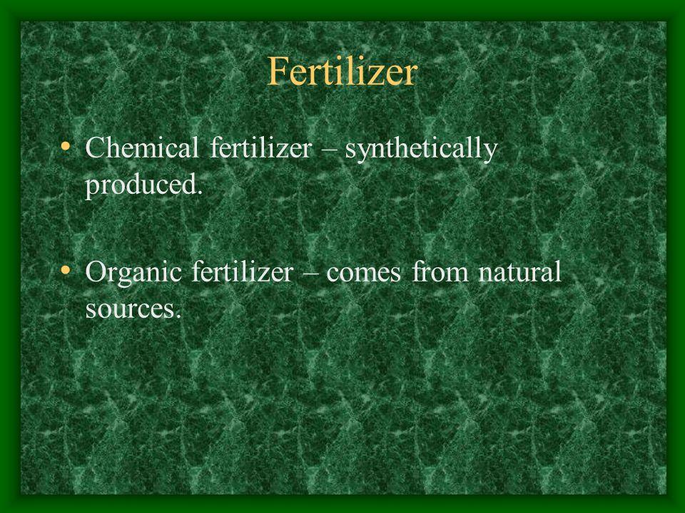 What Fertilizer Do I need To Use.