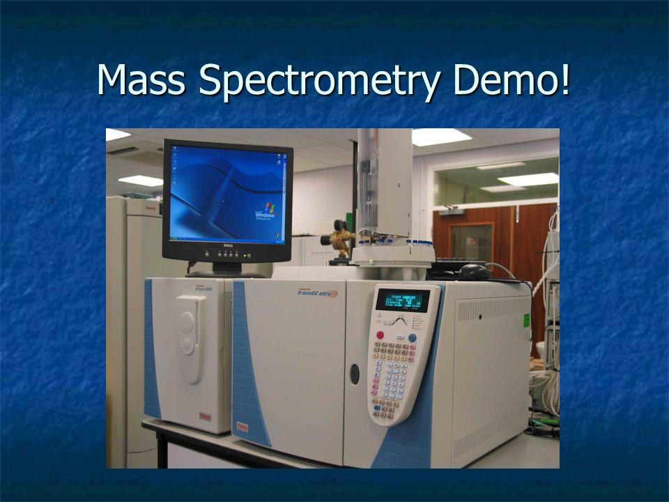 Mass Spectrometry Demo!