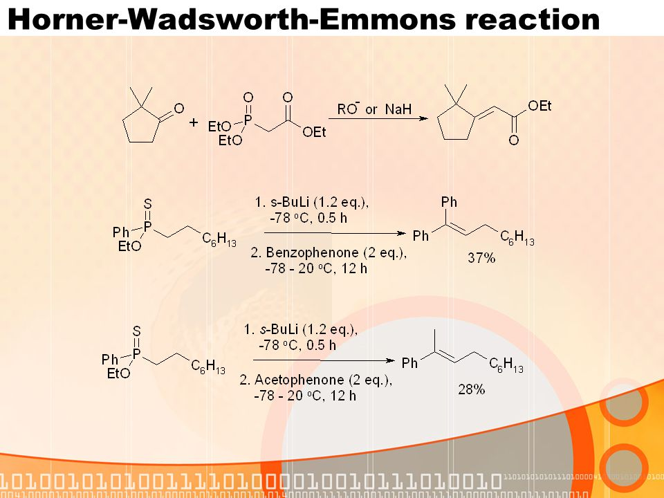 Horner-Wadsworth-Emmons reaction