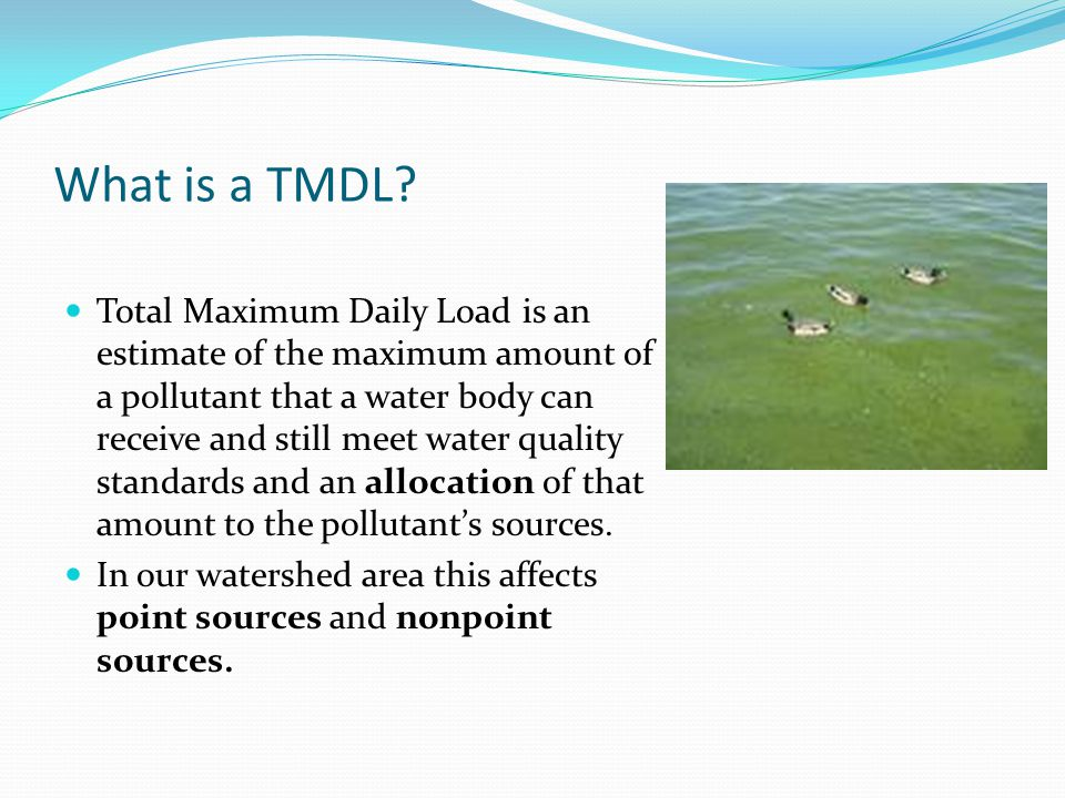 The Lake Allegan/Kalamazoo River Total Maximum Daily Load (TMDL) Plan Implementation by Jeff Spoelstra, Coordinator, Kalamazoo River Watershed Council