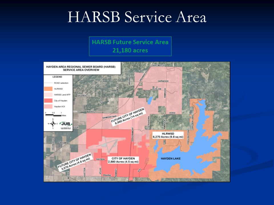 HARSB Service Area HARSB Future Service Area 21,180 acres