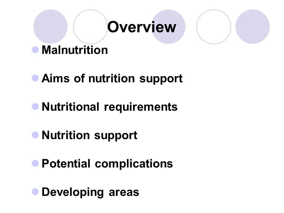 Malnutrition in hospital