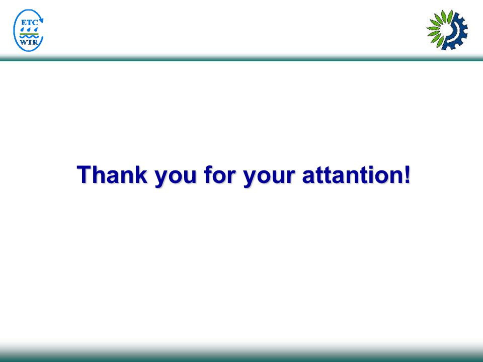 Thank you for your attantion!