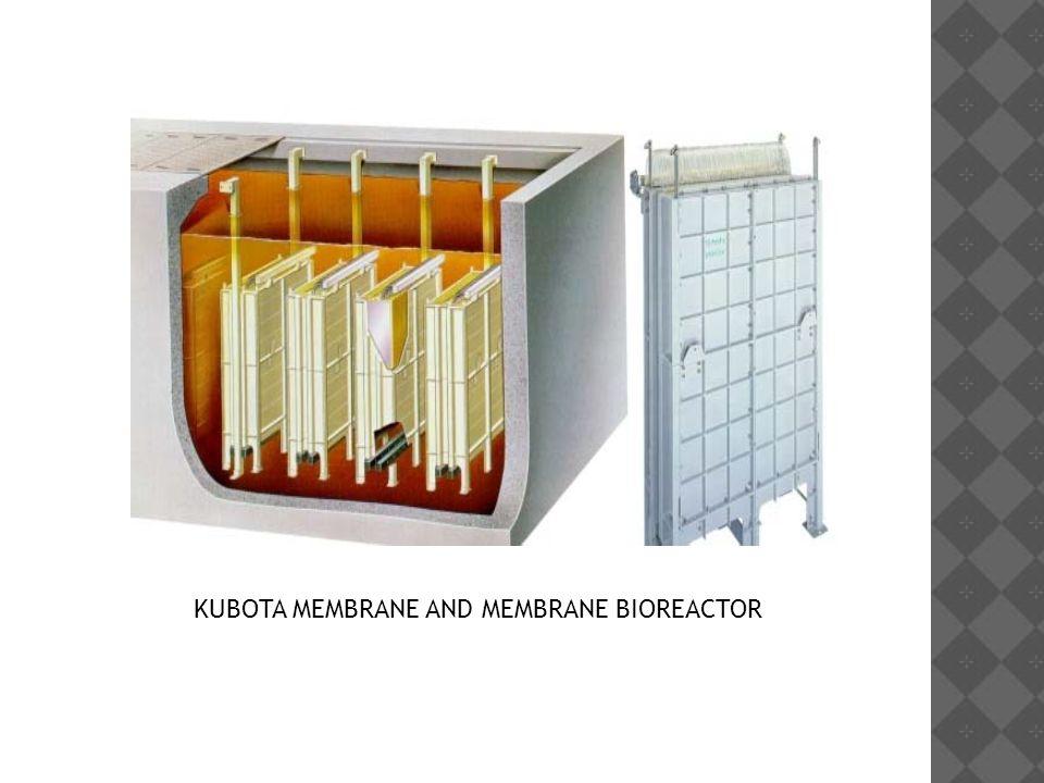 KUBOTA MEMBRANE AND MEMBRANE BIOREACTOR