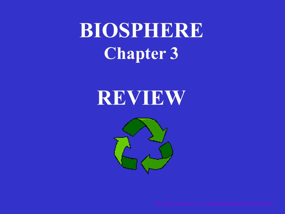 BIOSPHERE Chapter 3 REVIEW http://educ.queensu.ca/~fmc/august2004/pages/dinobreath.html