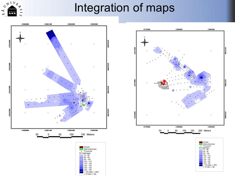 Integration of maps