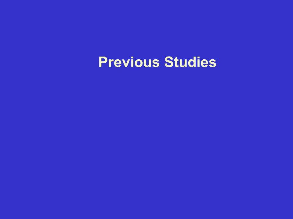 Previous Studies