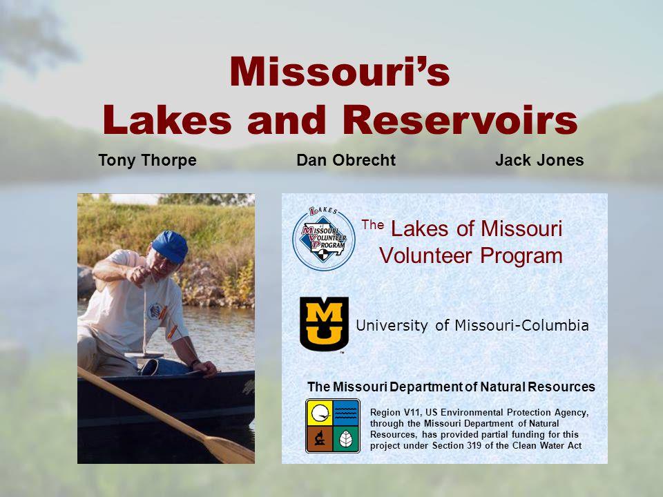 Large Reservoirs 2004 LMVP Data