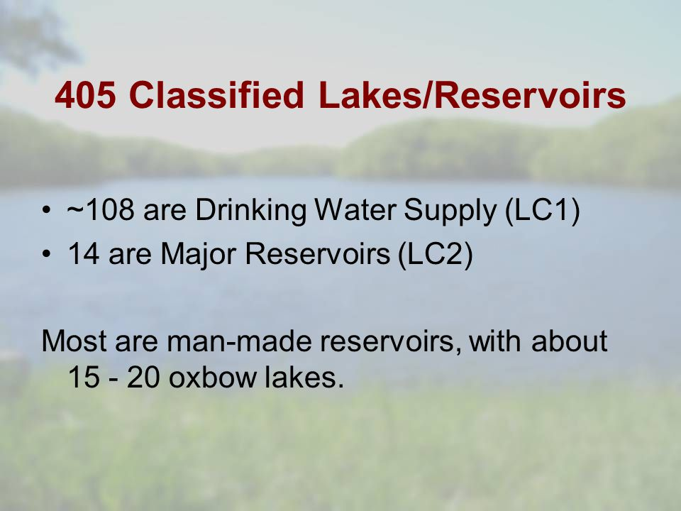 Land Cover within watersheds Forest = 0 – 95% Grass = 0 – 78% Crop = 0 – 74% Urban = 0 – 96% Using the 134 classified lakes for which we have >= 4 years worth of data