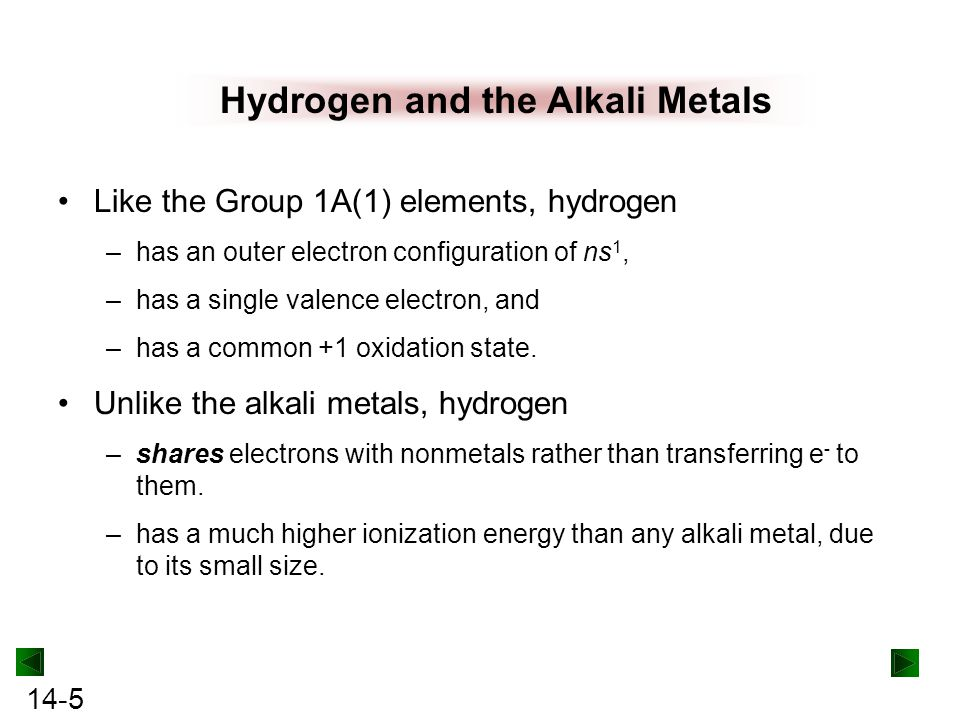 14-26 The metals reduce O 2 to form oxides: –3E(s) + O 2 (g) → 3EO(s) The larger metals reduce water to form H 2 gas: –2E(s) + H 2 O(l) → 2E 2+ (aq) + 2OH - (aq) + H 2 (g) (E = Ca, Sr, Ba) The metals reduce halogens to form ionic halides: –E(s) + X 2 → EX 2 (s)[X = F (not with Be), Cl, Br, I] Most of the elements reduce H 2 to form ionic hydrides: –E(s) + H 2 (g) → EH 2 (s)(E = all except Be) Family Portrait GROUP 2A(2) REACTIONS