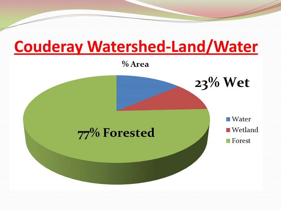 Couderay Watershed-Land/Water