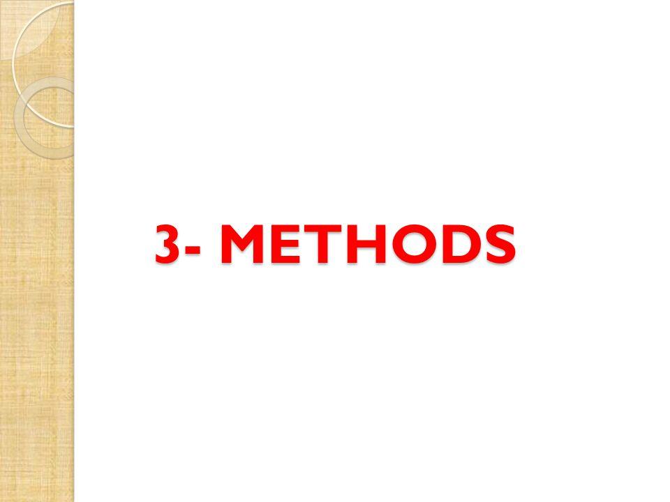 3- METHODS