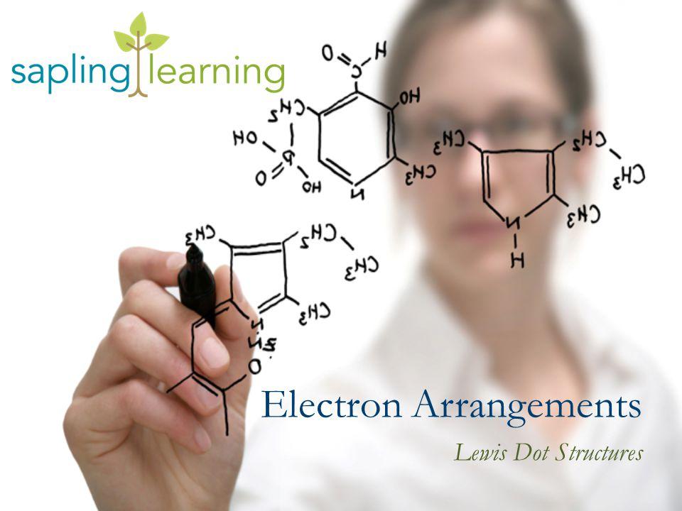 Electron Arrangements Lewis Dot Structures