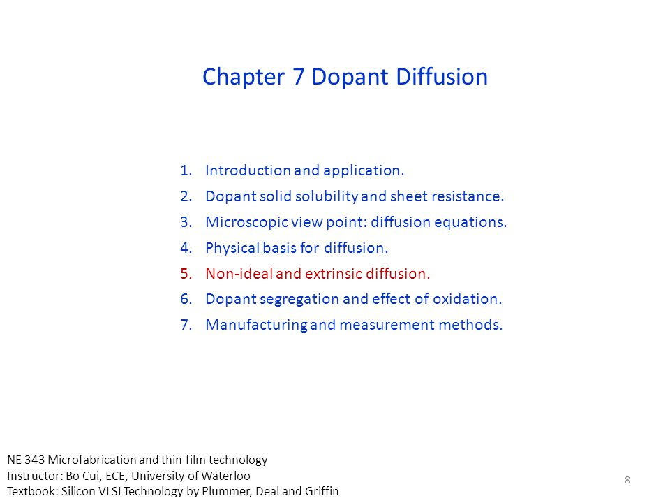 Field also leads to diffusion of substrate dopants that are negatively charged for P-type.