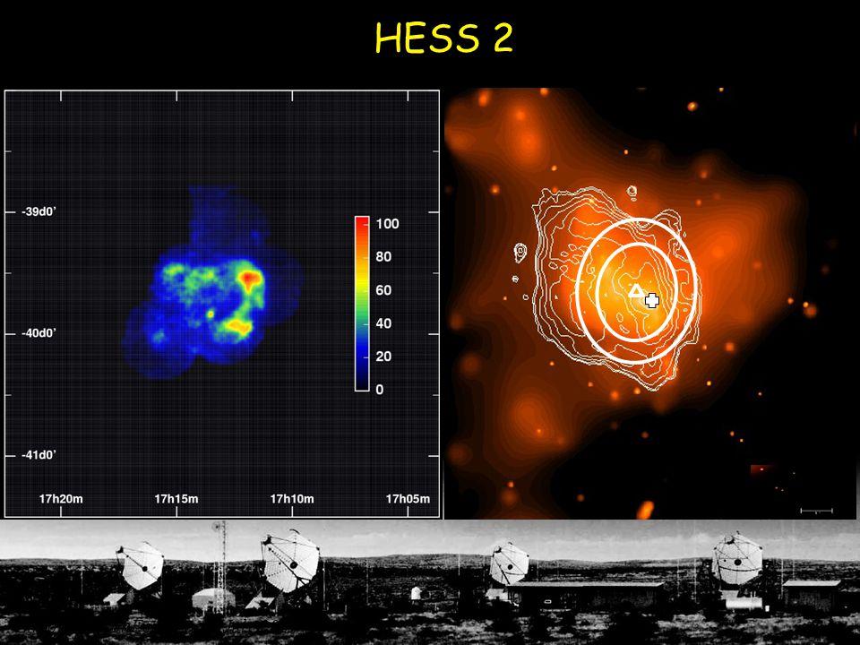 HESS 2 Galactic Centre - 11  RX J1713 - 20  Linton, WatsonFest, Leeds July 2004