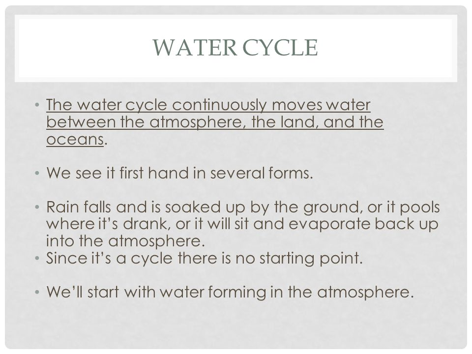 IN THE MARGIN OF YOUR NOTES, IDENTIFY THE STEPS NUMBERED 1-6. Condensation