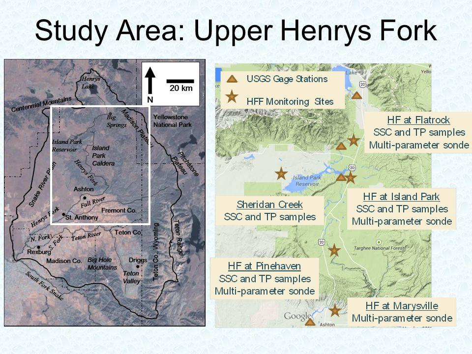 Study Area: Upper Henrys Fork