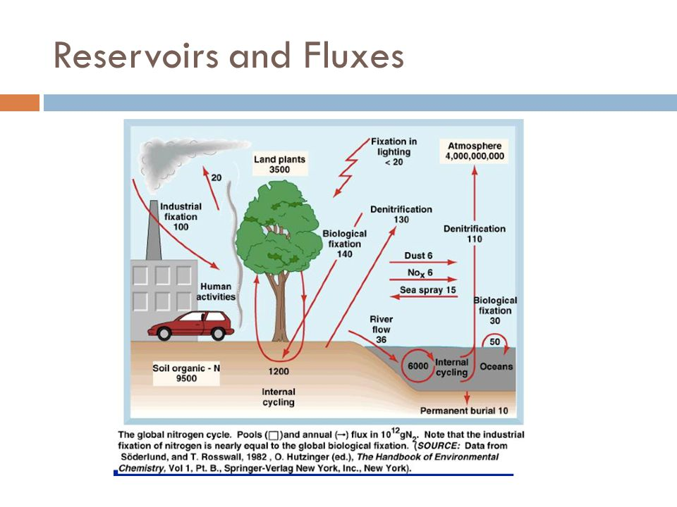 Reservoirs and Fluxes