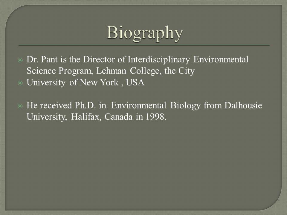  Biogeochemical cycles of Carbon, Nitrogen, Phosphorus, etc.