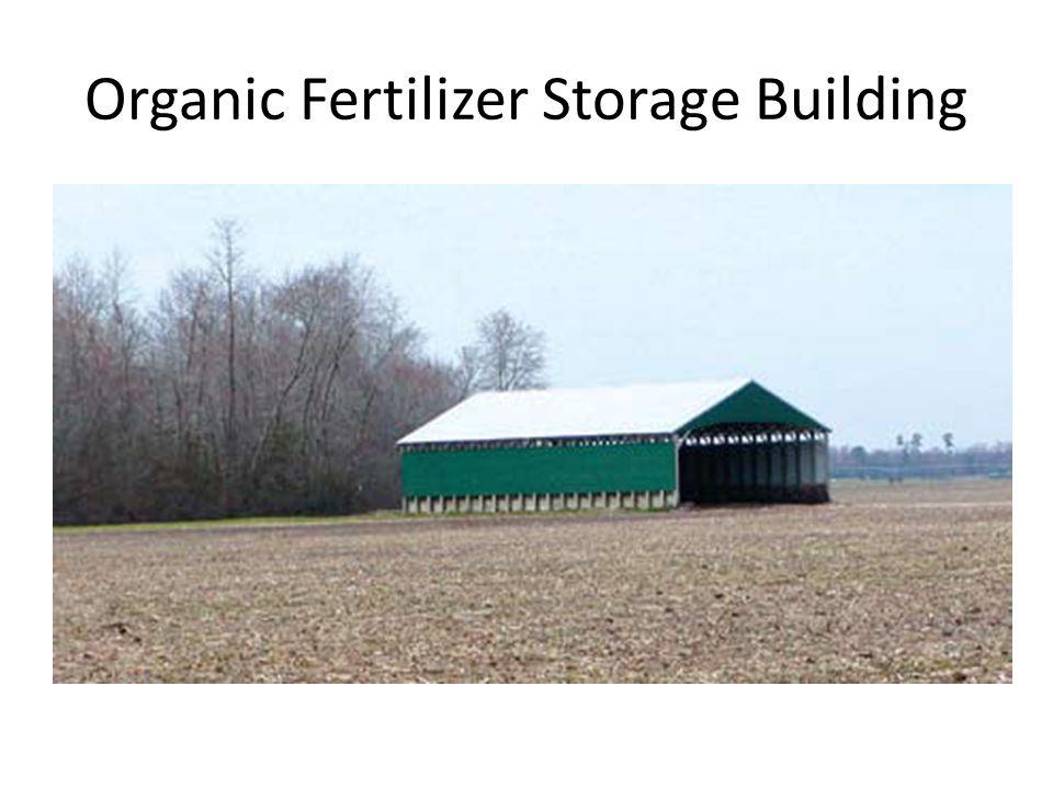 Organic Fertilizer Storage Building