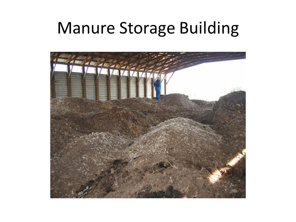 Manure Storage Building