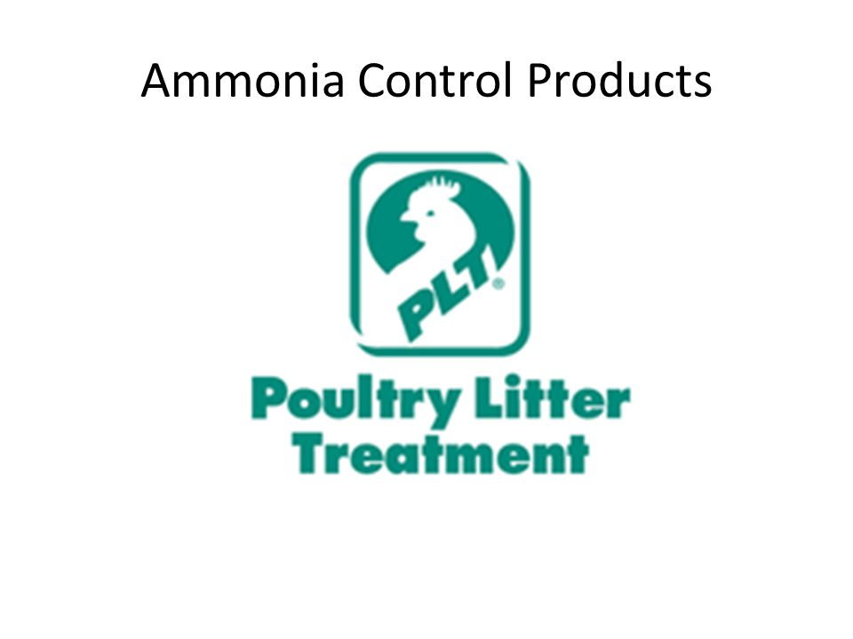 Ammonia Control Products