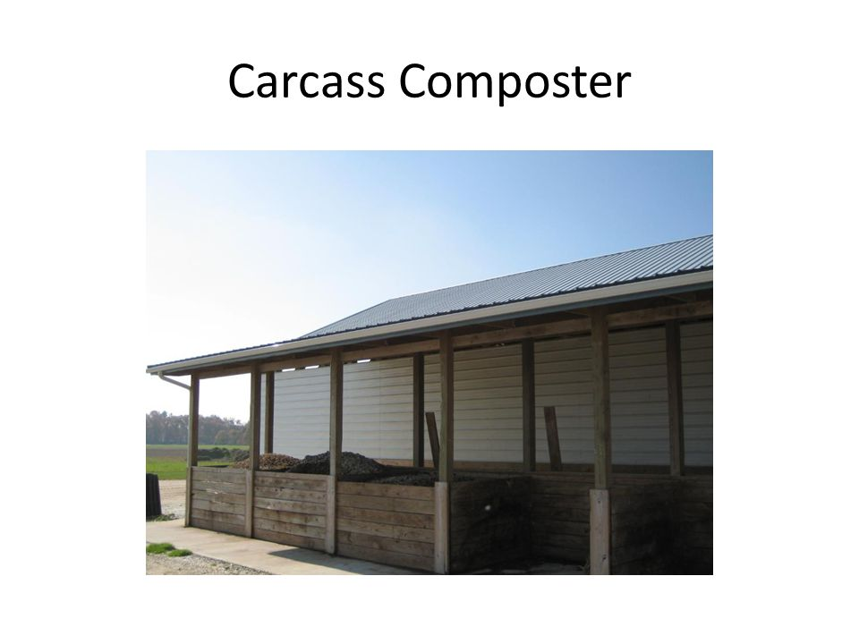 Carcass Composter