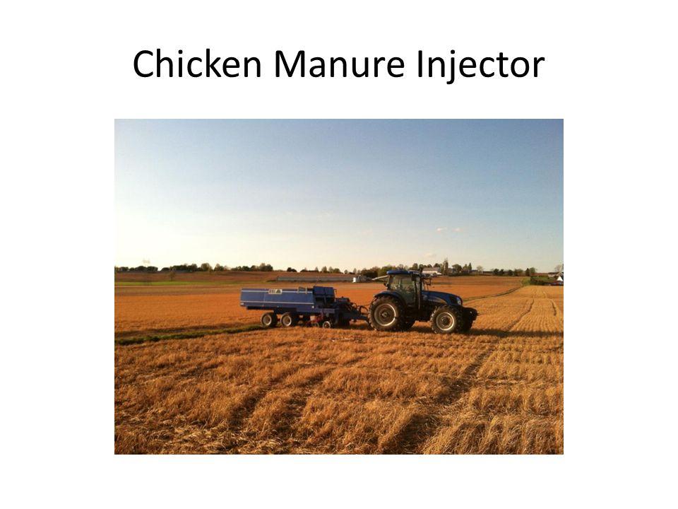 Chicken Manure Injector