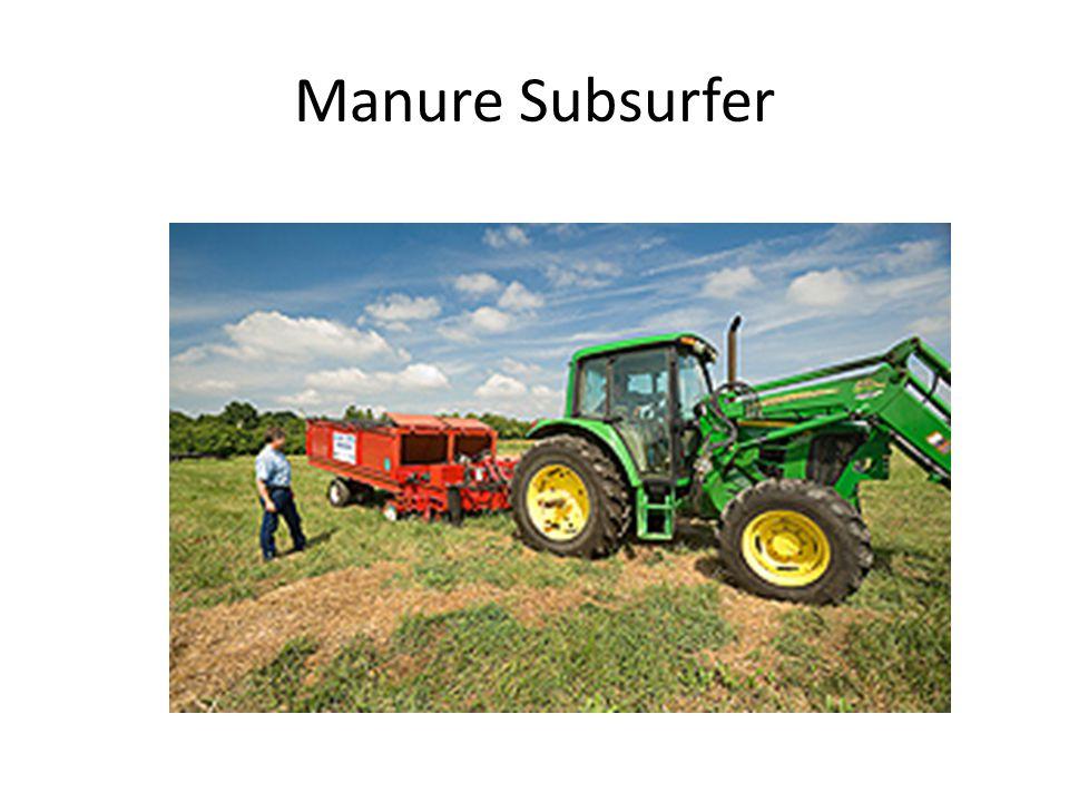 Manure Subsurfer
