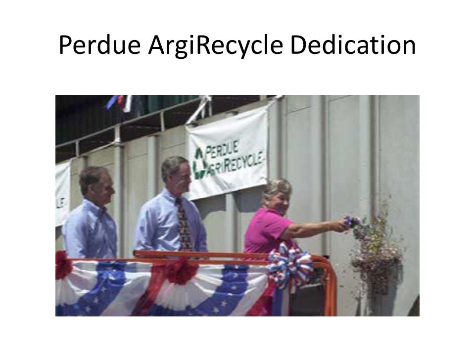 Perdue ArgiRecycle Dedication