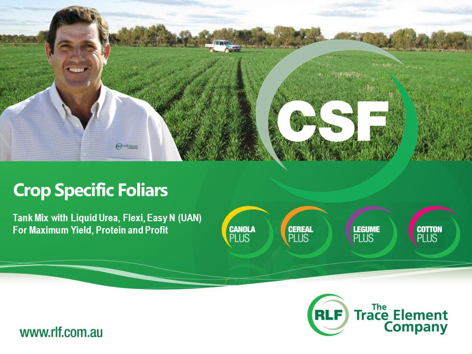 Crop Specific Foliars Tank Mix with Liquid Urea, Flexi, Easy N (UAN) For Maximum Yield, Protein and Profit