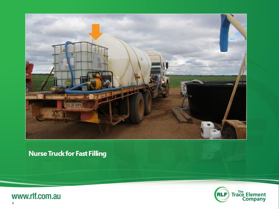 Nurse Truck for Fast Filling 9