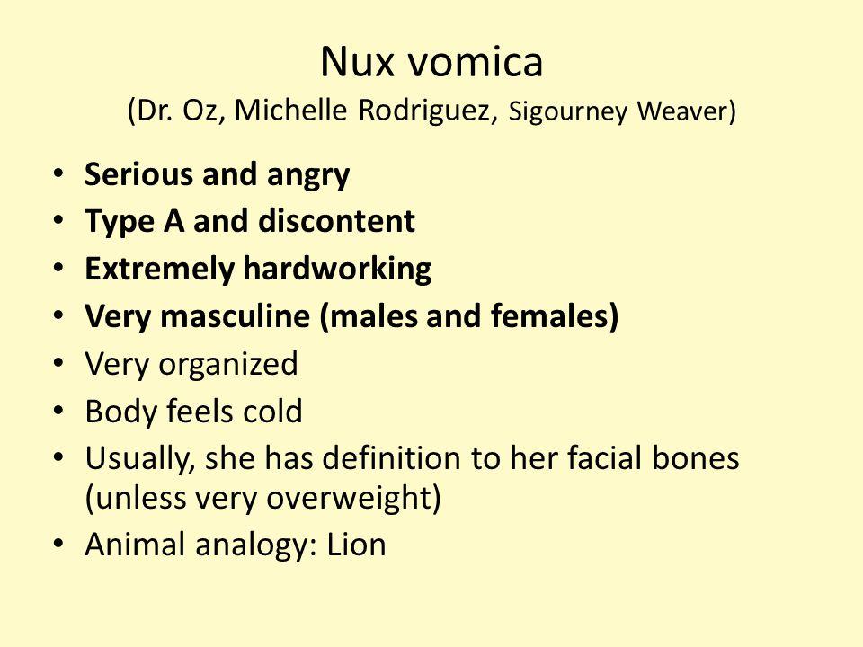 Nux vomica (Dr.