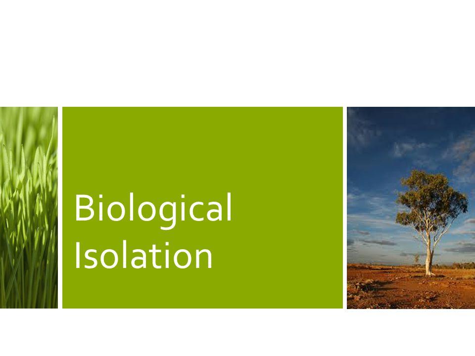 Biological Isolation