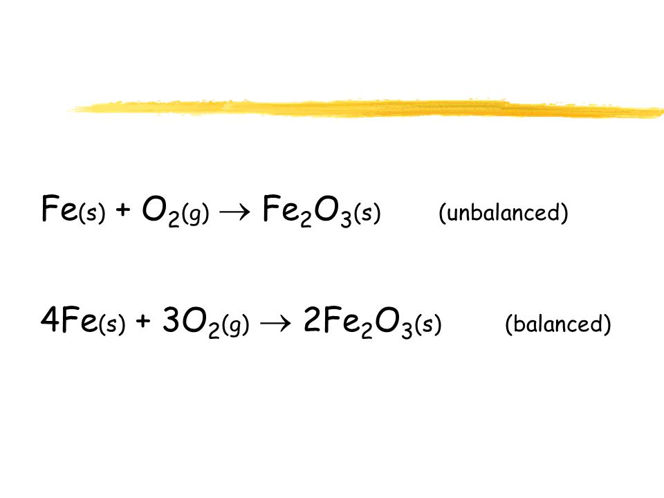 Balancing Equations NOTE: When balancing equations, you may change coefficients as much as you need to, but you may never change subscripts because you can't change what substances are involved.