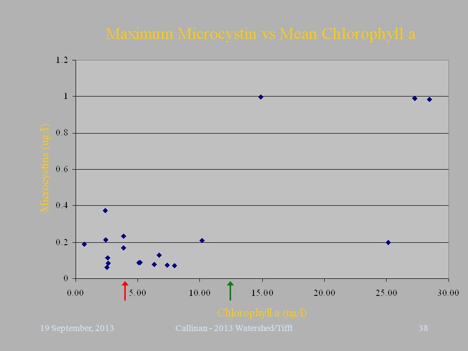 3819 September, 2013Callinan - 2013 Watershed/Tifft