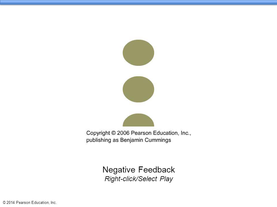 Negative Feedback Right-click/Select Play