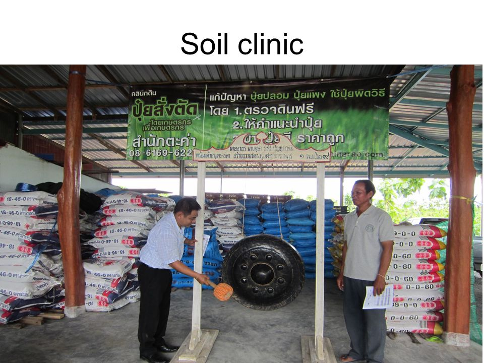 Soil clinic