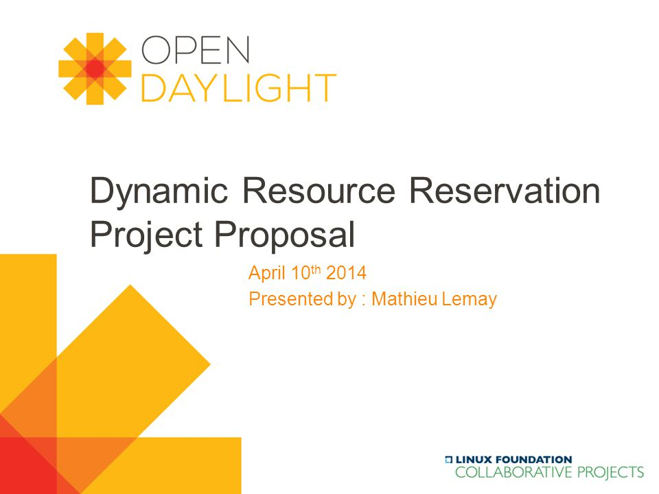 www.opendaylight.org  Background, Motivation & Scope  Background  Motivation  Scope  Draft Specifications  Goal  Use Cases  Architecture  API / Interfaces  Project Management  Members  Roadmap Contents