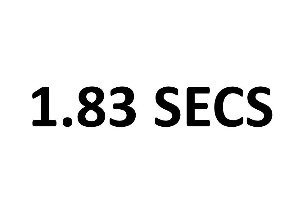 1.83 SECS